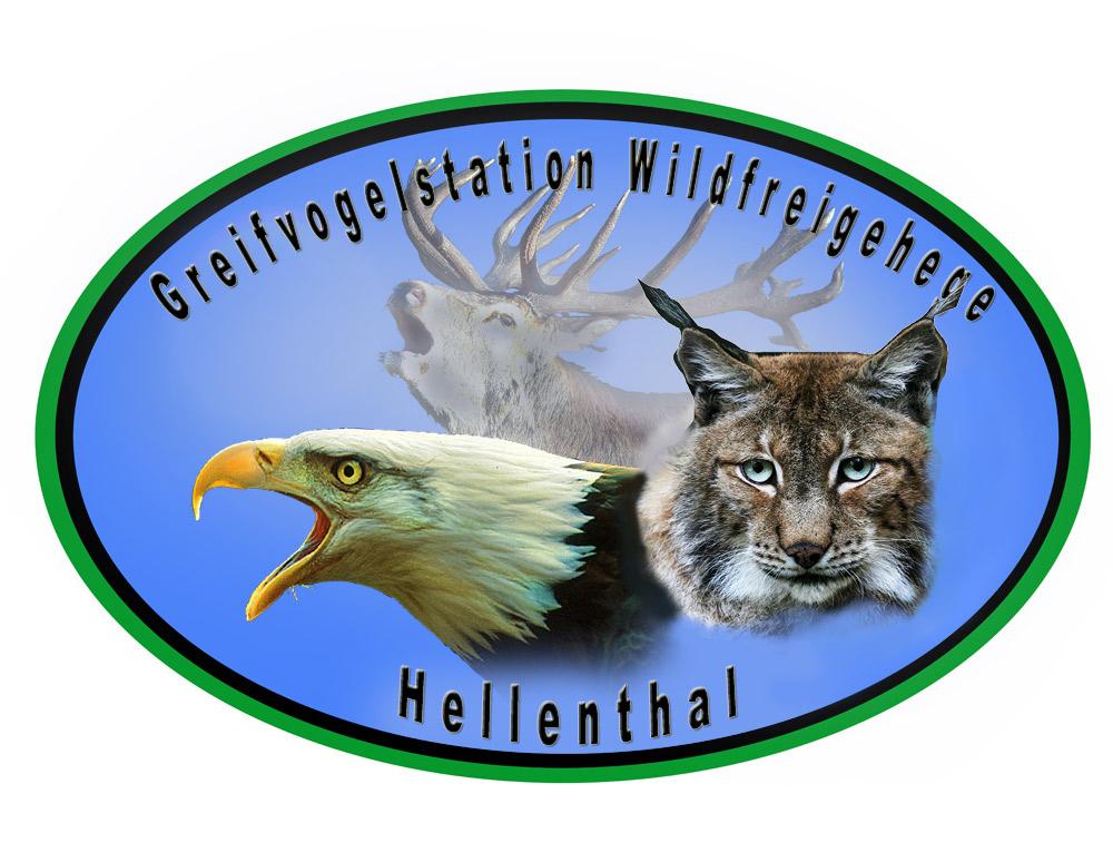 Logo Greifvogelstation Wildfreigehege Hellenthal
